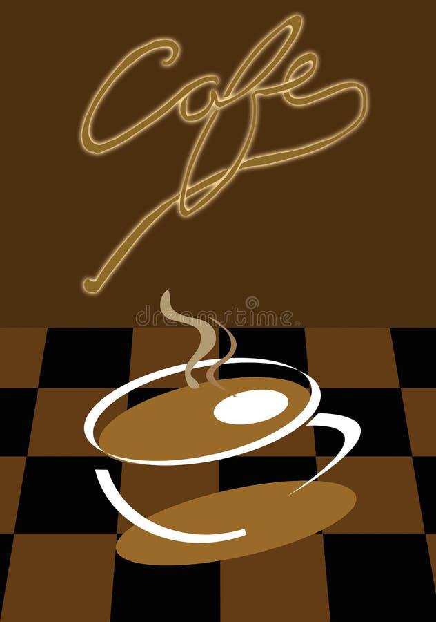 cafe stock illustration