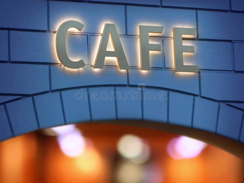 Cafe royaltyfri fotografi