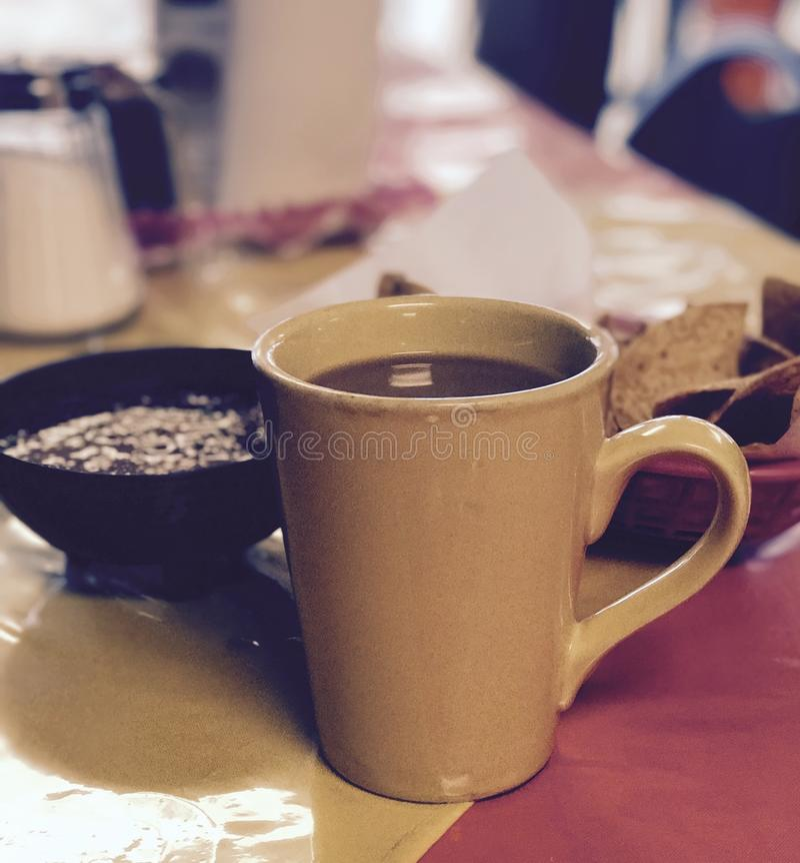 Cafe arkivbild