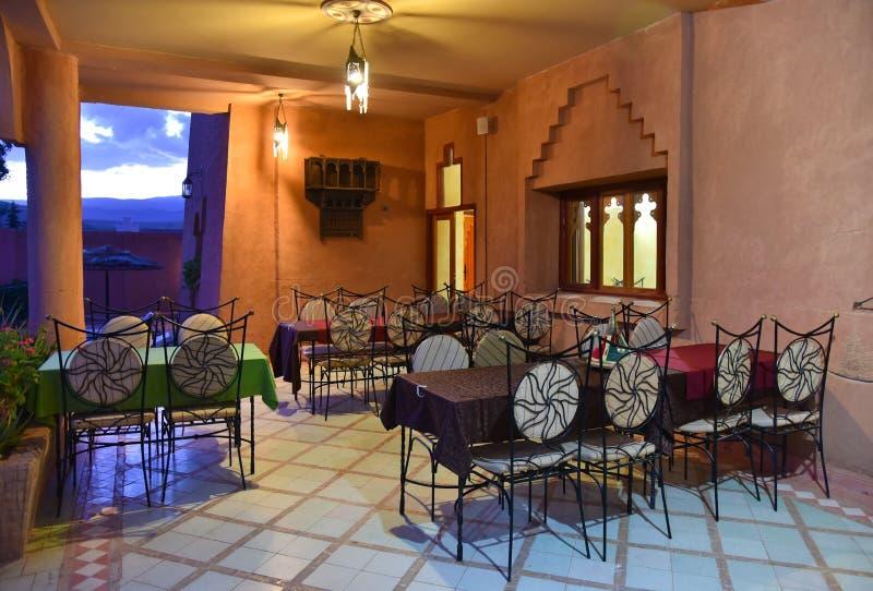 cafe arabska obrazy royalty free