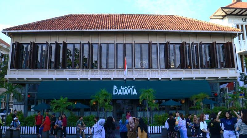 Cafe Batavia editorial stock image. Image of jakarta - 171568419