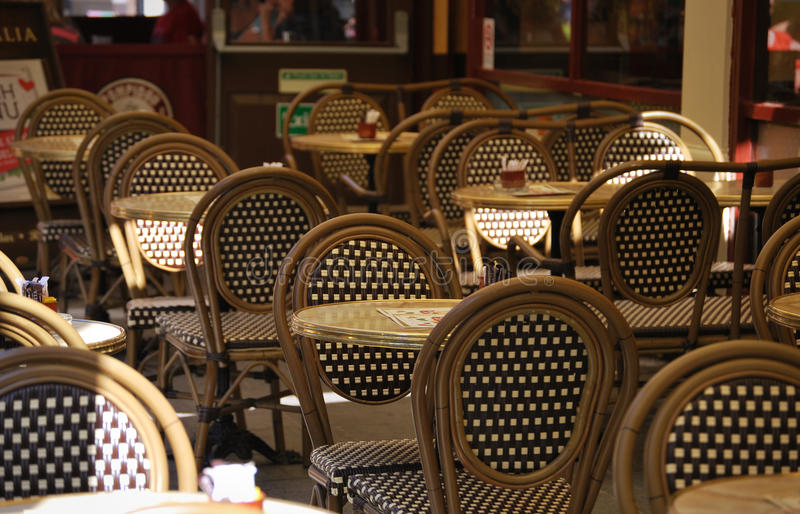 Download Cafe Chairs 1 stock image. Image of food, chair, peaceful - 25422991