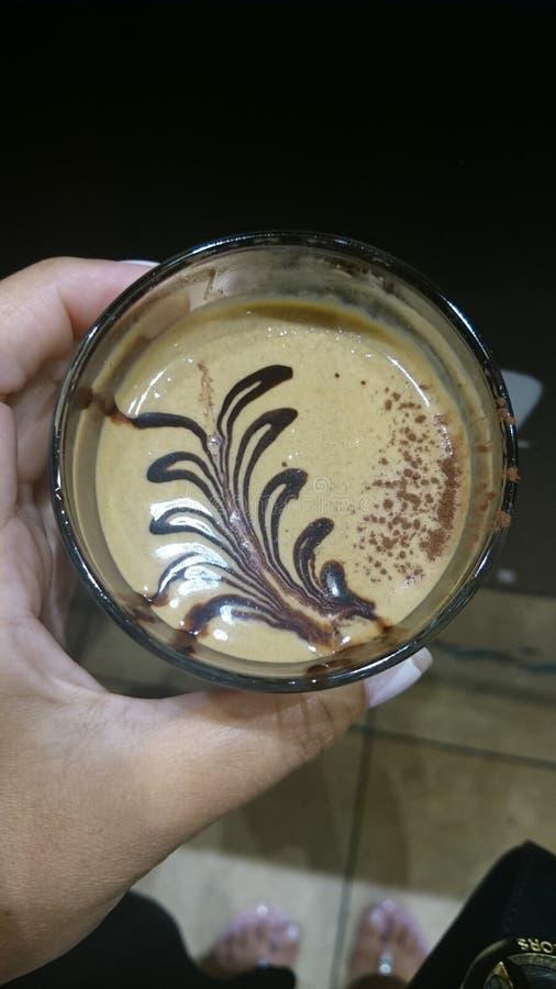 Cafe Crema arkivbild