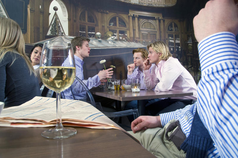 Download Cafe crowd stock photo. Image of several, caucasian, alcohol - 13123714