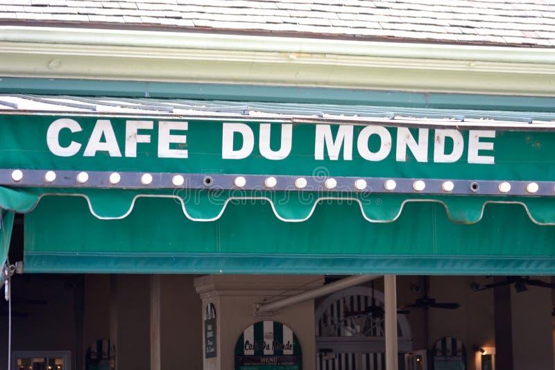 Cafe Du Monde immagine stock libera da diritti