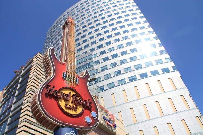cafe hard rock στοκ φωτογραφία με δικαίωμα ελεύθερης χρήσης
