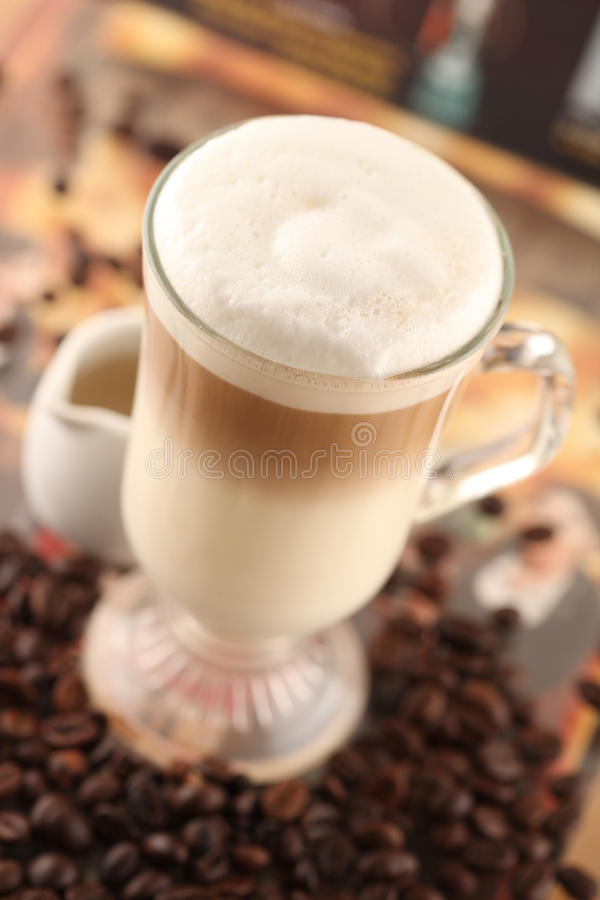 Free Cafe Latte Stock Photo - 18718350