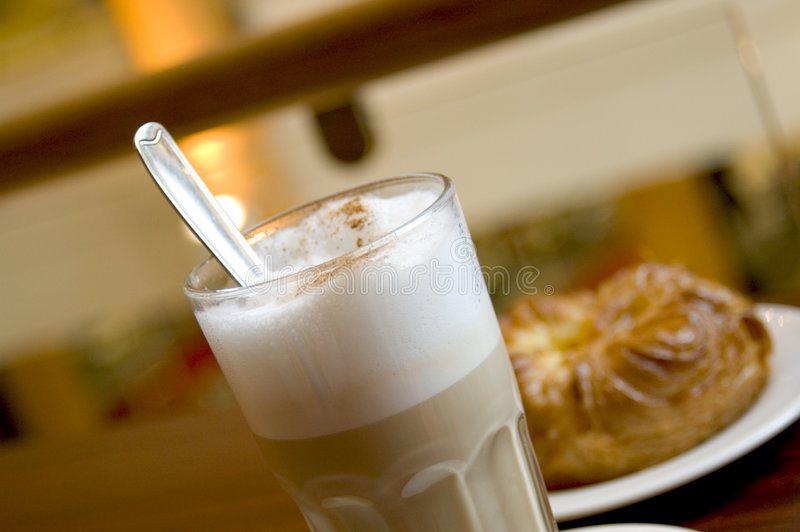 Download Cafe Latte 2 stock photo. Image of cookie, trend, bisquit - 80190