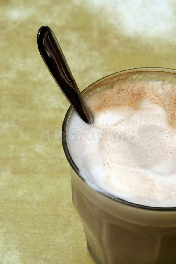 Download Cafe Latte stock photo. Image of decaf, alone, powder, cappuccino - 429296