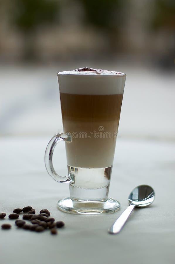 Cafe Macchiatto royalty free stock photography