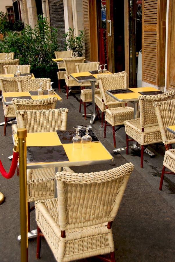 cafe Paryża fotografia stock