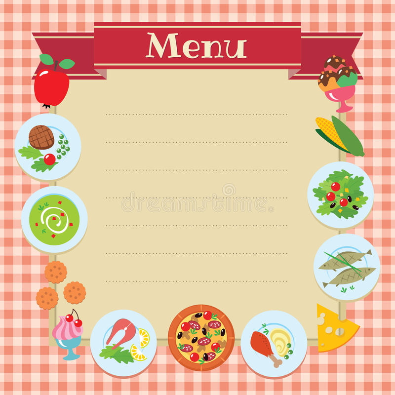 blank food menu template koni polycode co