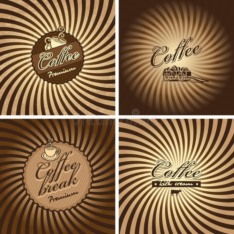 Cafe in retro style