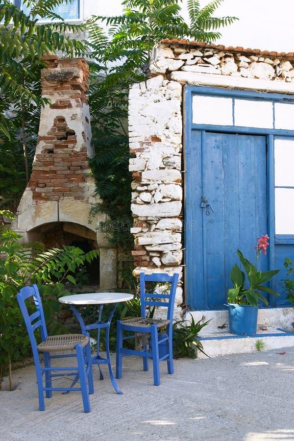 Cafe society 2. Greek pavement cafe