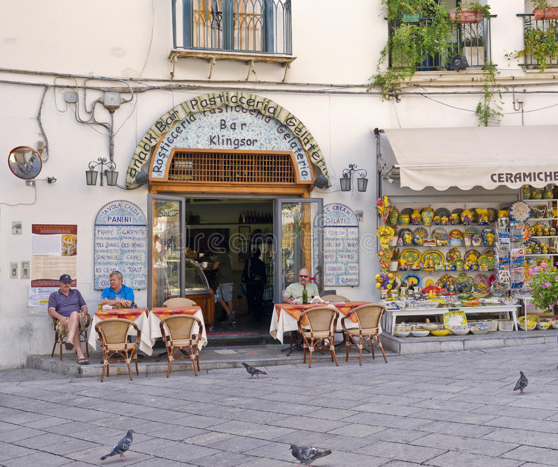Download Cafe And Store, Ravello, Italy Editorial Photography - Image: 27543737