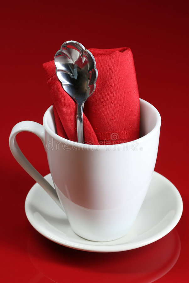 Free Cafe Table Setting Stock Image - 4168011