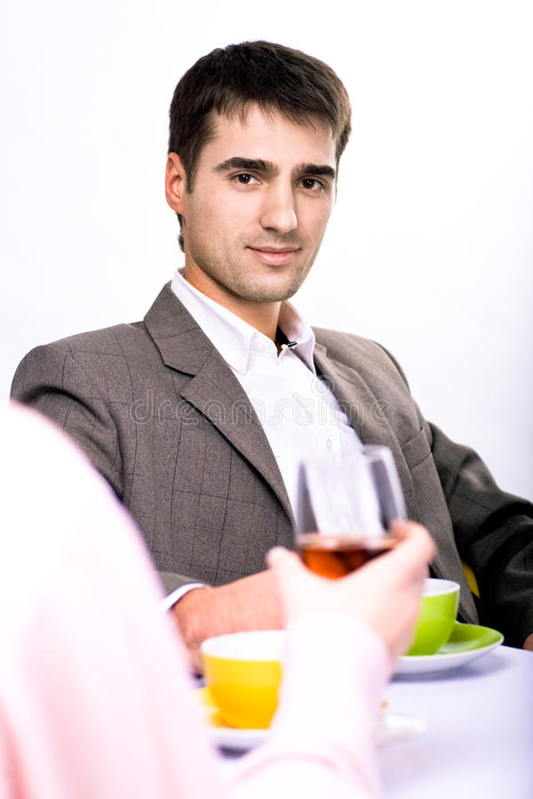 Download Cafe talk stock photo. Image of friend, talk, cafe, indoors - 12041668