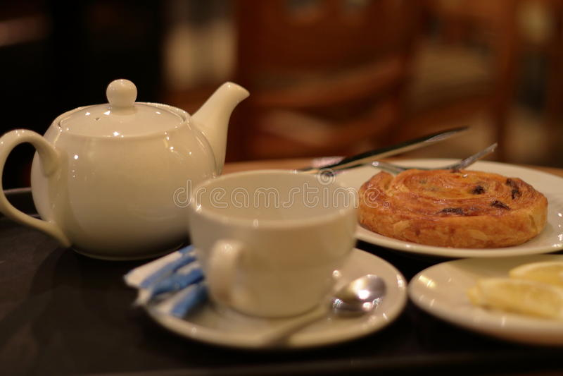 Cafe tea royalty free stock image