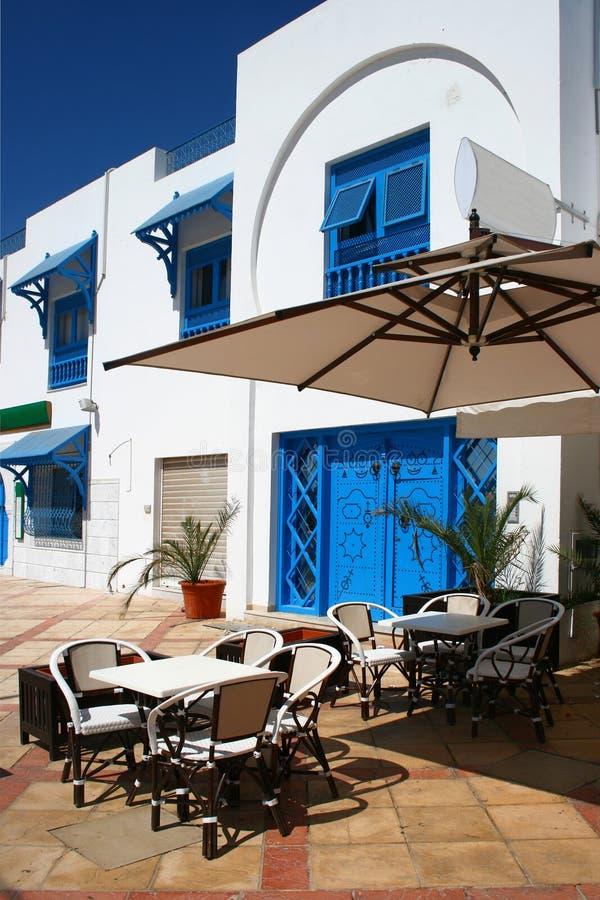cafe tunis fotografering för bildbyråer
