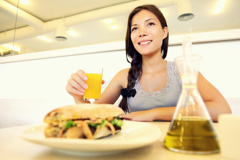 Download Cafe Woman Stock Photo - Image: 20947710