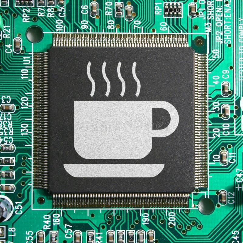 cafecyberinternet royaltyfri fotografi