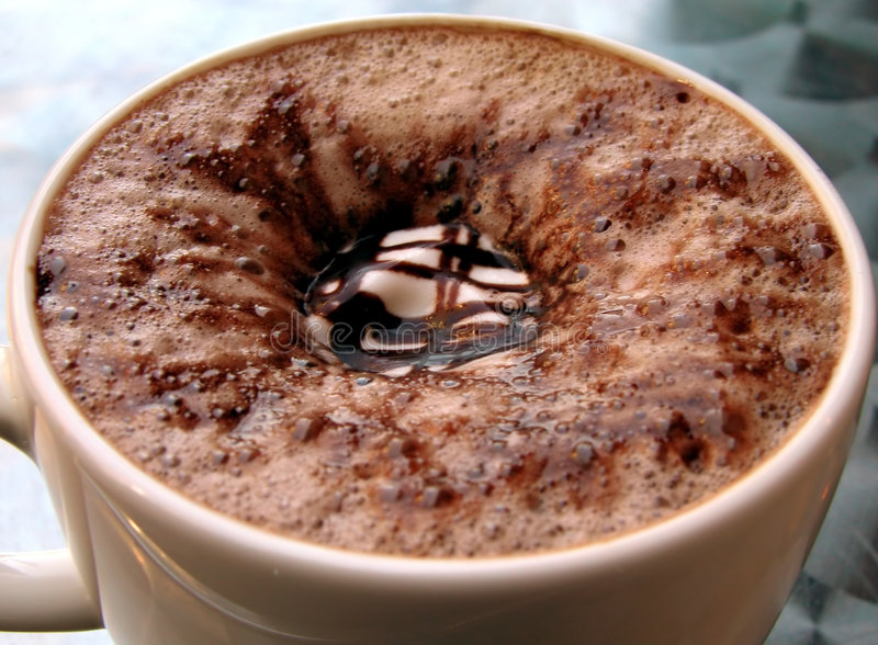 Cafemocka Arkivfoto