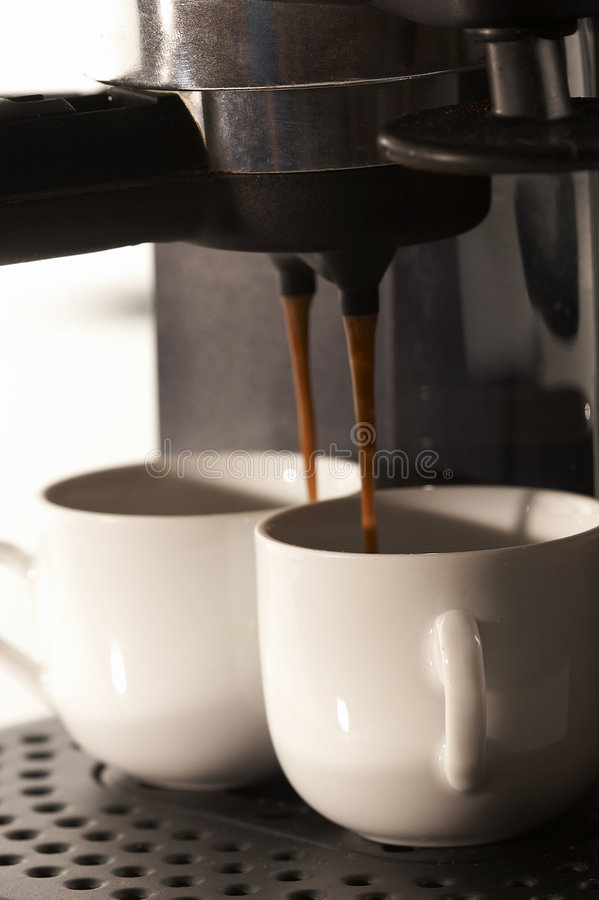Cafeteira imagem de stock