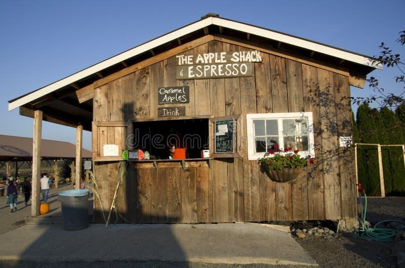 Cafetería en la granja foto de archivo libre de regalías