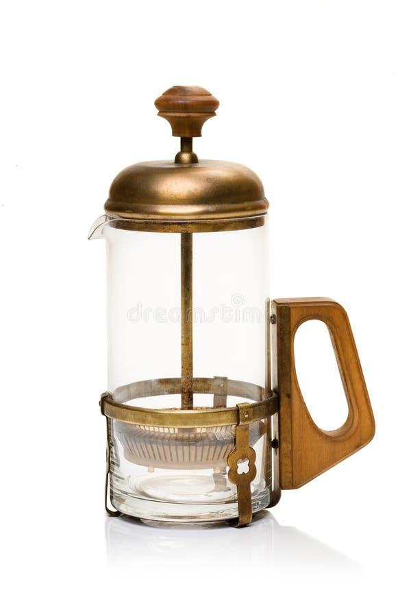 Cafetera fotografía de archivo libre de regalías