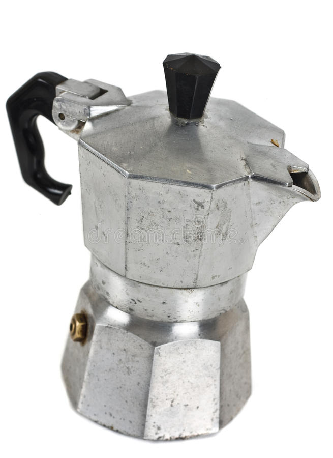 Cafetiere italien photo stock