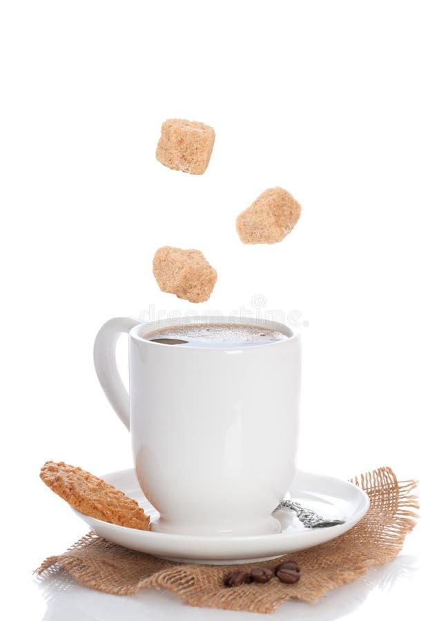 Caffè & biscotto immagine stock