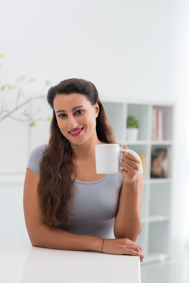 Caffè bevente fotografia stock libera da diritti