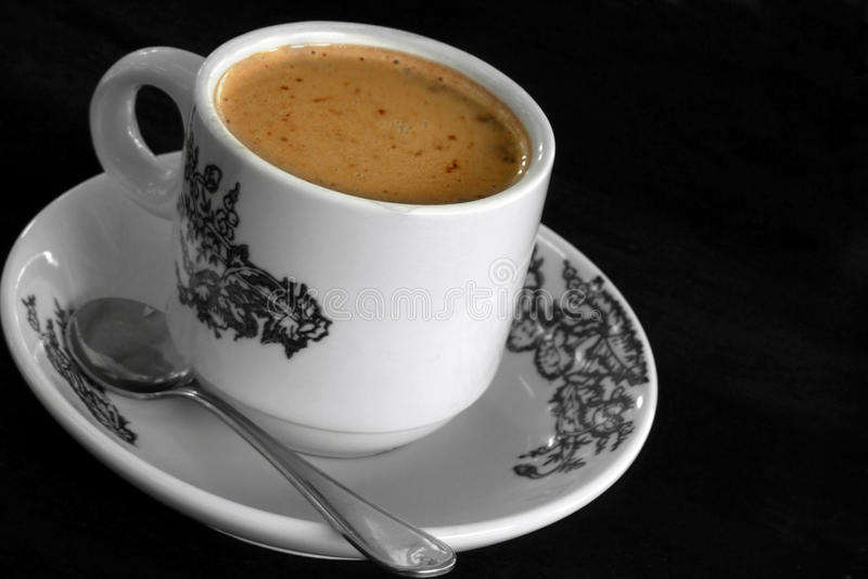 Caffè bianco fotografia stock