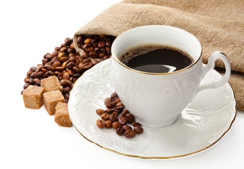 Caffè caldo. immagine stock