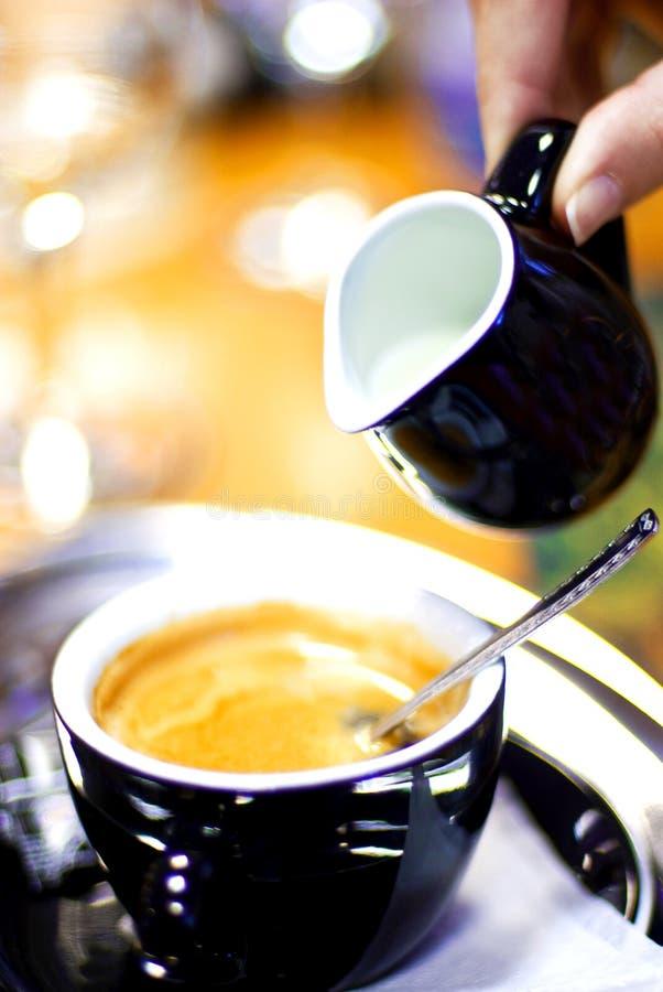 Caffè con latte immagini stock