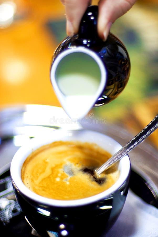 Caffè con latte immagini stock libere da diritti