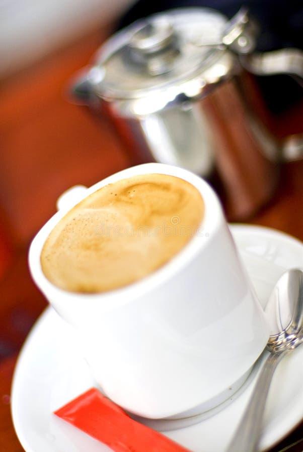 Caffè con latte fotografia stock libera da diritti