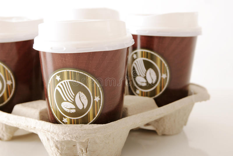Caffè da andare fotografia stock libera da diritti