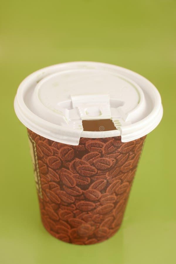 Caffè da portar via fotografia stock