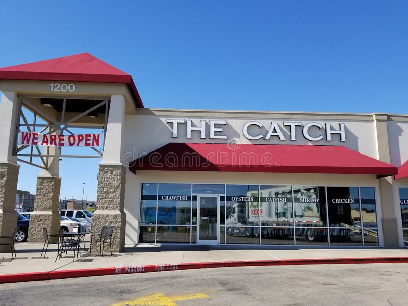 Caffè dei frutti di mare il fermo in Killeen, il Texas immagine stock
