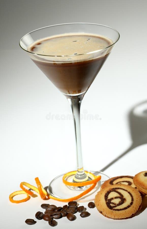 Caffè del cocktail fotografia stock libera da diritti