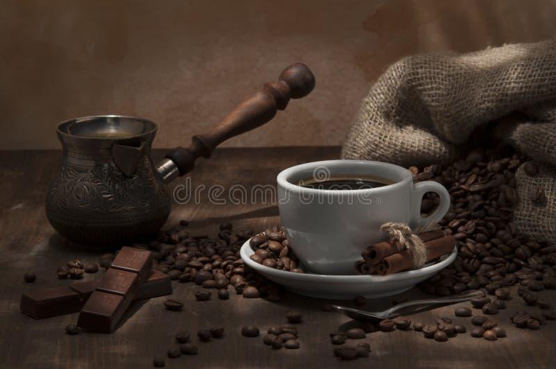 Caffè del fagiolo immagini stock