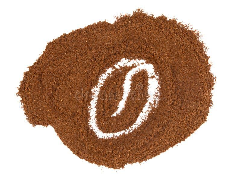 Caffè del grano dell'immagine fotografie stock
