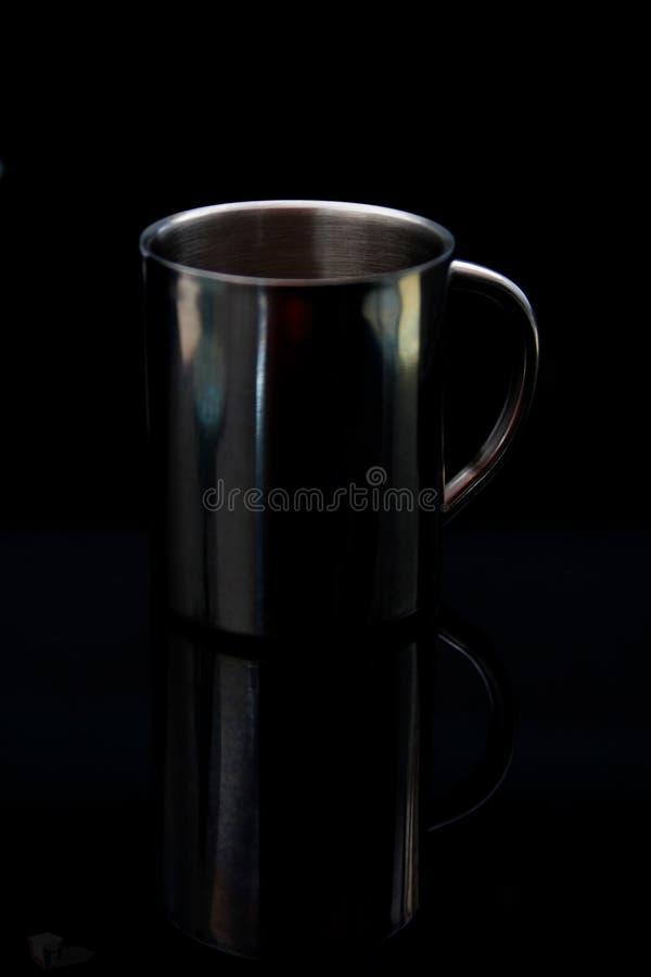 Caffè dell'acciaio inossidabile immagini stock libere da diritti