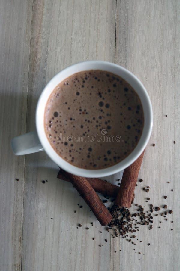 Caffè della cannella fotografia stock