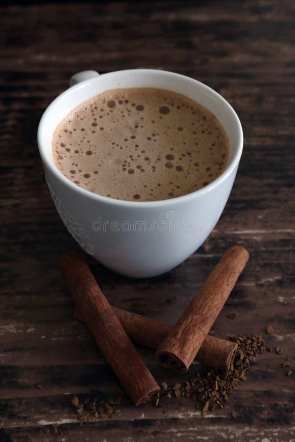 Caffè della cannella fotografie stock