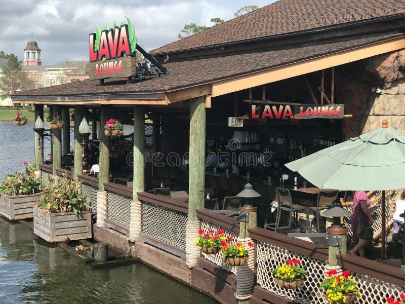Caffè della foresta pluviale, primavere di Disney, Orlando, Florida fotografia stock