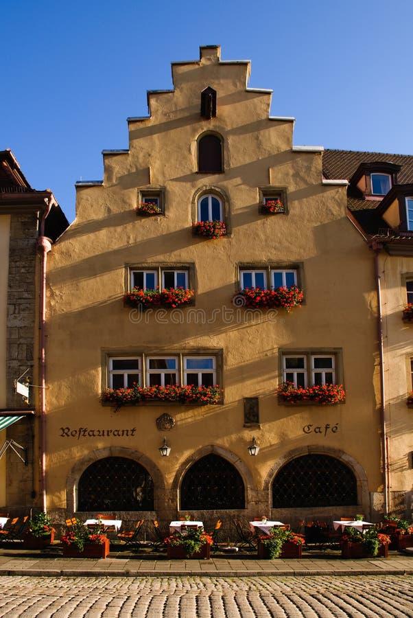 Caffè dello stucco in Germania fotografia stock