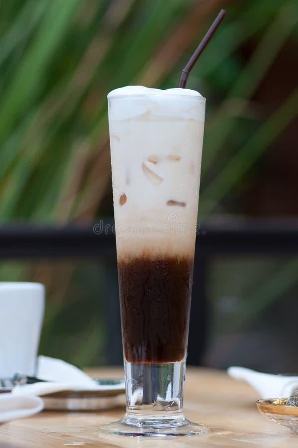 Caffè di ghiaccio fotografia stock libera da diritti