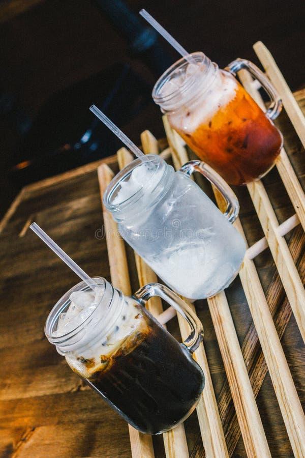 Caffè di ghiaccio tailandese fotografie stock